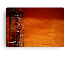 Water pipes Canvas Print