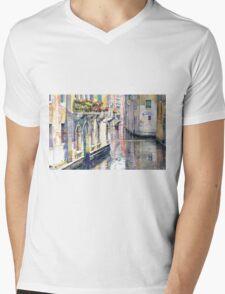 Italy Venice Midday Mens V-Neck T-Shirt