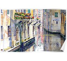 Italy Venice Midday Poster