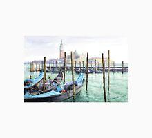 Italy Venice Gondolas Parked Unisex T-Shirt
