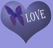 Butterfly Love by KazM