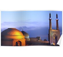 Rooftops of Yazd Poster