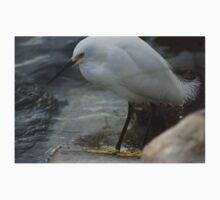 Snowy Egret Kids Tee