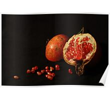Pomegranates... Poster