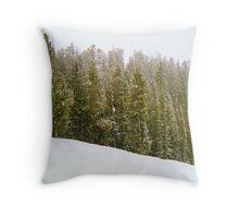 Snowmass Mountain Throw Pillow