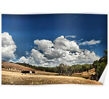 Home with a sky like that Poster