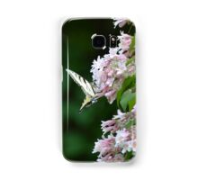 Tiger Swallowtail Butterfly on Honeysuckle Samsung Galaxy Case/Skin