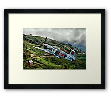 Flight of the Yak Framed Print