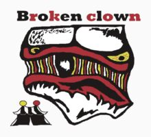 """Broken Clown"" One Piece - Short Sleeve"