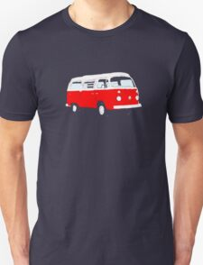 Bay Window Red White Essence (see description) Unisex T-Shirt
