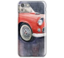 Ford Thunderbird 1955 Red iPhone Case/Skin