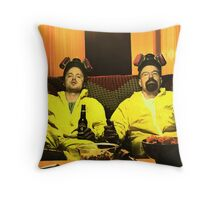 Breaking Bad - Walt and Jessie Throw Pillow