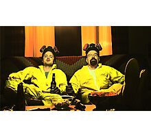 Breaking Bad - Walt and Jessie Photographic Print