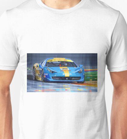 Ferrari 458 Challenge Team Ukraine 2012 Unisex T-Shirt