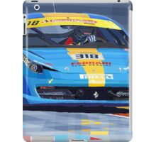 Ferrari 458 Challenge Team Ukraine 2012 iPad Case/Skin