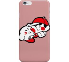 Ness and Kirby -1- iPhone Case/Skin