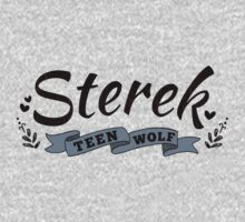 Sterek One Piece - Long Sleeve