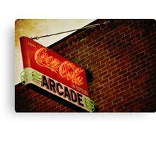 Coca Cola - Arcade Canvas Print