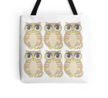 Sextuplet Cats Tote Bag