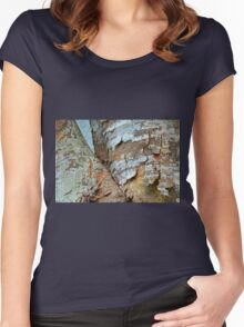 Bark Composition 8  Women's Fitted Scoop T-Shirt