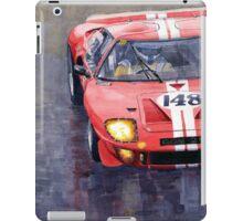 Ford GT 40 24 Le Mans  iPad Case/Skin