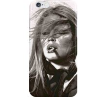 A Girl and Her Cigarette iPhone Case/Skin