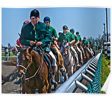 Outriders Along The Rail Poster