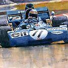 Tyrrell Ford 003 Jackie Stewart 1971 French GP by Yuriy Shevchuk