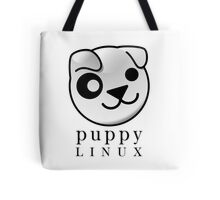puppy LINUX Tote Bag