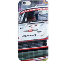 Porsche 935 Coupe Moby Dick Martini Racing Team iPhone Case/Skin