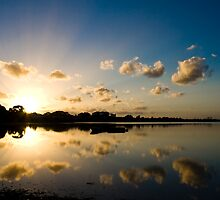 Reflected Cloud Sunset by Briarah1969