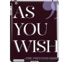 Princess Bride 1 iPad Case/Skin