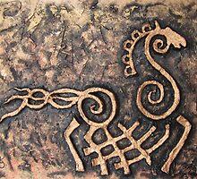 Sleipnir the horse of Odin by hildurko