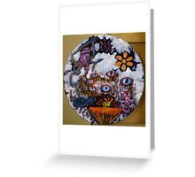 Tears and cloud cover Greeting Card