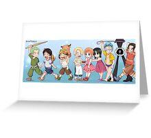 One piece children Greeting Card