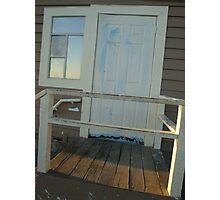 slanted door Photographic Print