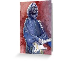Eric Clapton 04 Greeting Card