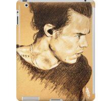 Harry on brown paper iPad Case/Skin