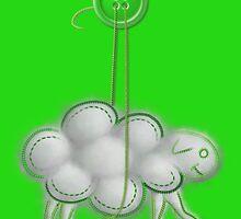Button Sheep - Grass by Sunflow