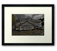 Sunken Hall... Framed Print