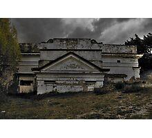 Sunken Hall... Photographic Print