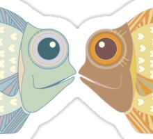 Two Fish Sticker