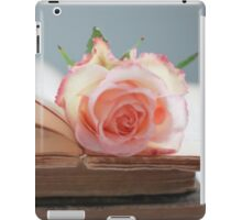 Rose in a Book iPad Case/Skin