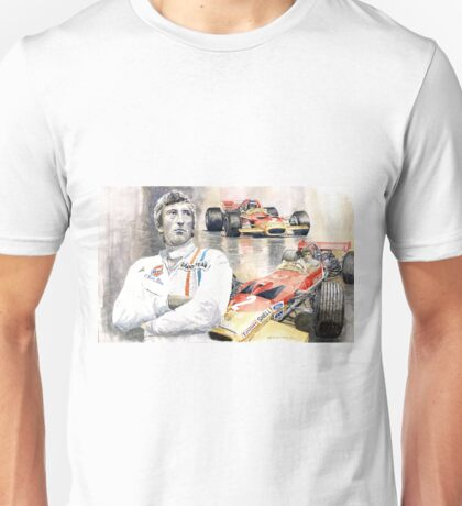 Jochen Rindt Golden Leaf Team Lotus Lotus 49b Lotus 49c Unisex T-Shirt