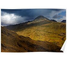 Moelwyn Mawr from Cnicht Poster