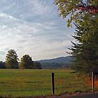 Cades Cove at Sunset by Todd A. Blanchard
