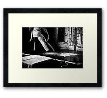 Sunday Tango Framed Print