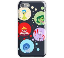Inside Out characters iPhone Case/Skin