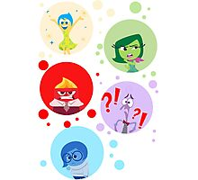 Inside Out characters Photographic Print