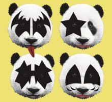 panda kiss  Baby Tee
